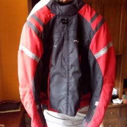 Giubbotto €50 - Bra Giubbotto da moto con imbottiture ai...