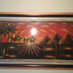 Papiro Egiziano originale €160 Papiro Egiziano originale, racchiuso in cornice...