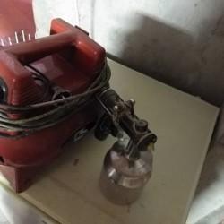 Compressore per pitturare o verniciare usato poco solo per pittura...