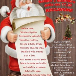 Ciao a tutti!! Sabato 2 dicembre a Roccavione dalle ore...