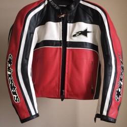 Giacca in pelle Alpinestars €120 - Fossano Vendo giacca in...