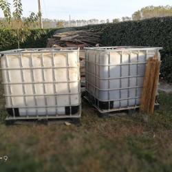 Cisterne per raccolta acqua €100 - Bricherasio 2 cisterne per...