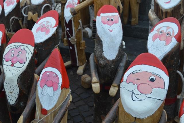 Babbo Natale Bovesano 2017 a Boves