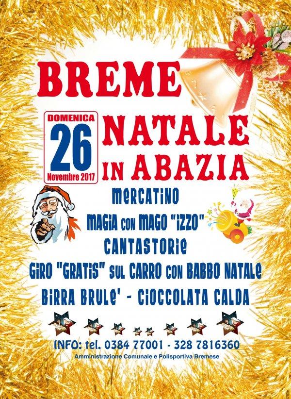 Natale 2017 in abazia a Breme