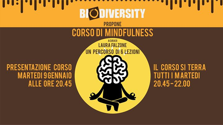 Presentazione Corso Mindfulness a cura di Laura Falzone