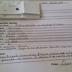 Zaffiro €100 - Centallo Vendo zaffiro con certificato, perfetta idea...