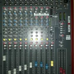 Mixer Allen& heat zed12 fx €360 - 12100 Borsa disponibile...