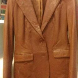 Giacche donna in pelle €15 - Cuneo Giacca color cuoio...