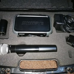 Microfono Shure PGX4 Wireless Receiver €190 - 12100 Microfono wireless...
