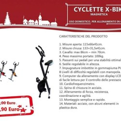 Cyclette tapis roulant ellittica xbike €1 - Fatamorgana SPEDIZIONE GRATUITA...