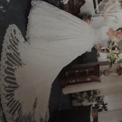 Abito da sposa con velo taglia 42 €100 - 12040...