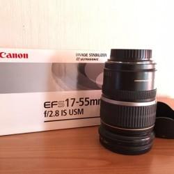 Obiettivo Canon EFS 17-55 mm f2.8 IS USM. €500 -...