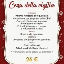 cena €26 - Il Bicchio
