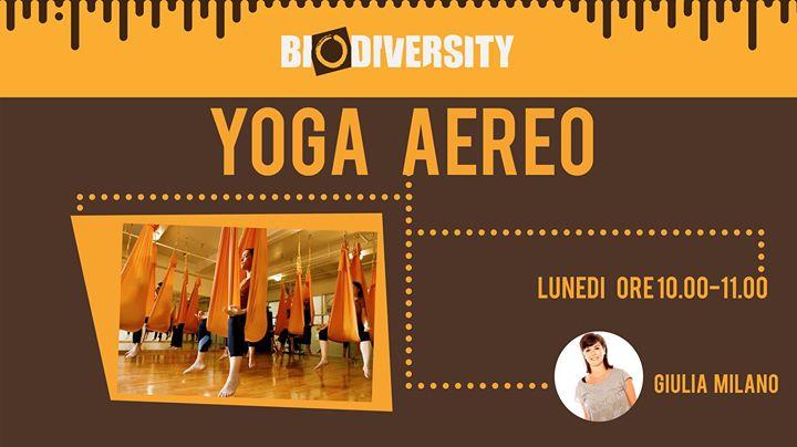 Corso di Yoga Aereo (solo su Prenotazione)
