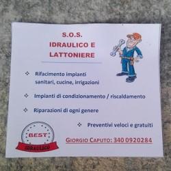 Manutenzione e lavori idraulici €50 - Cherasco Svolgo varie riparazioni...