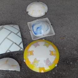 Plafoniere €40 - Centallo Vendo in blocco 5 plafoniere usate...
