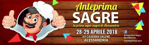 Anteprima Sagre 2018 ad Alessandria
