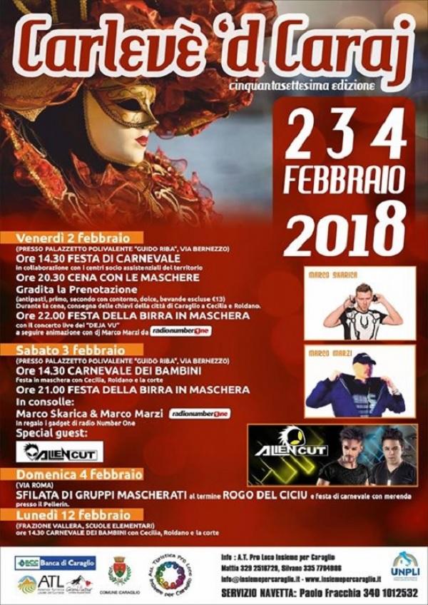 Carnevale di Caraglio 2018 - Carlevè 'd Caraj