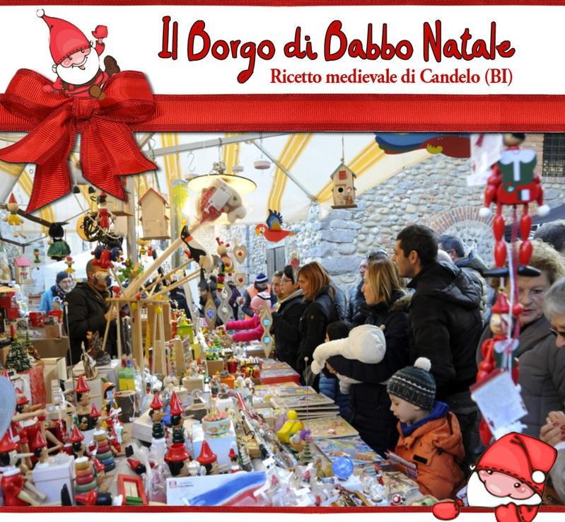 Il Borgo di Babbo Natale 2018 a Candelo