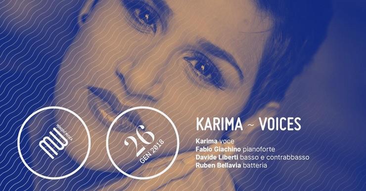 Karima - Voices a Mondovì
