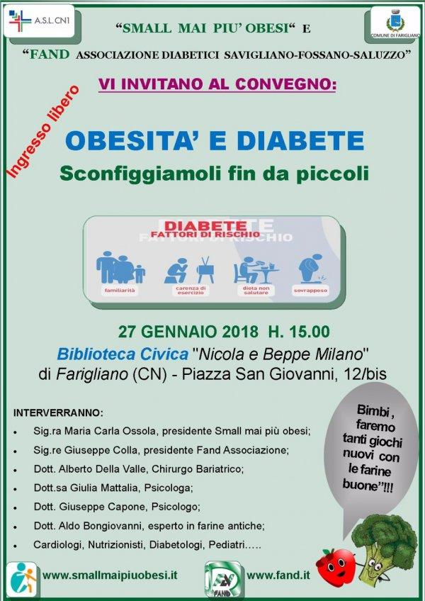 Obesità e diabete - sconfiggiamoli fin da piccoli a Farigliano