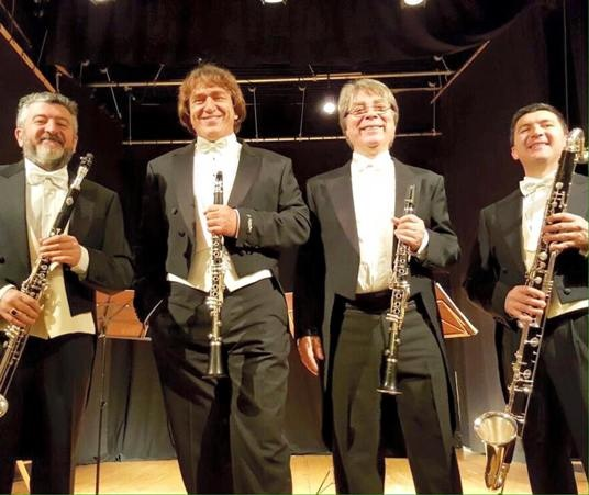 Quartetto italiano di clarinetti a Limone Piemonte