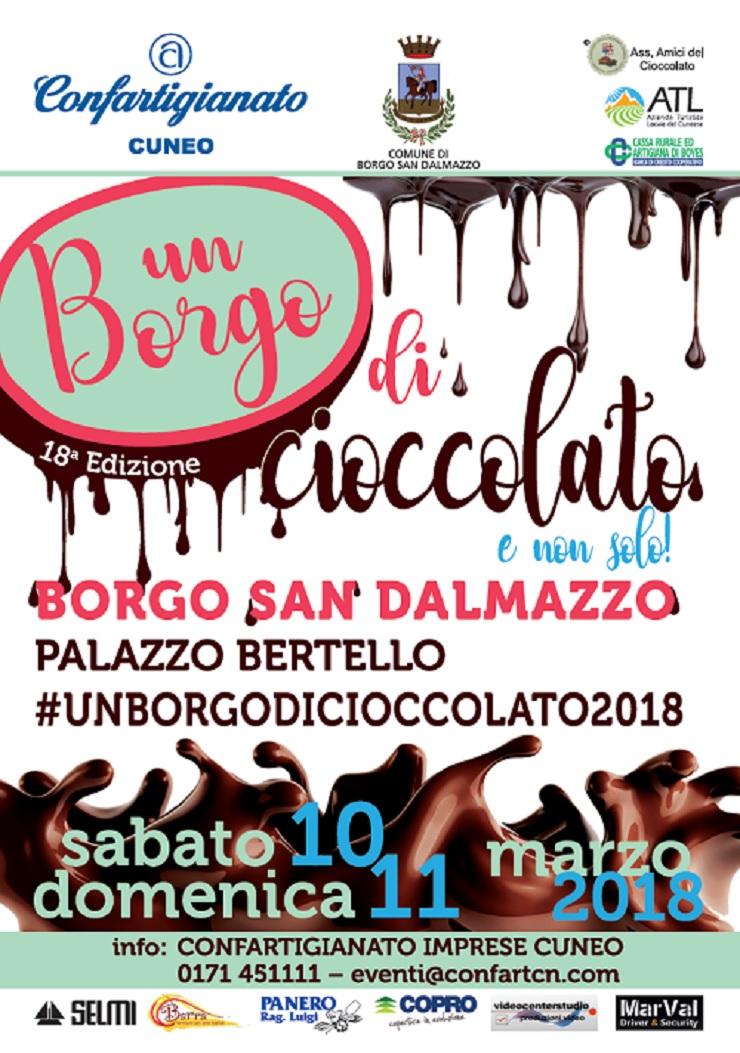 Un Borgo di Cioccolato 2019 a Borgo San Dalmazzo