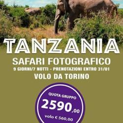 Viaggio Safari Tanzania, ultima camera doppia volo da Torino €3,150...