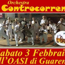 Questa sera l'Orchestra CONTROCORRENTE all'OASI di Guarene!