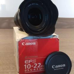 Canon EF-S 10-22 3.5-4.5 USM €250 - Mondovì - Canon...