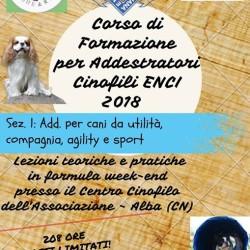 Corso di Formazione per diventare Addestratori Cinofili ENCI - Sez....