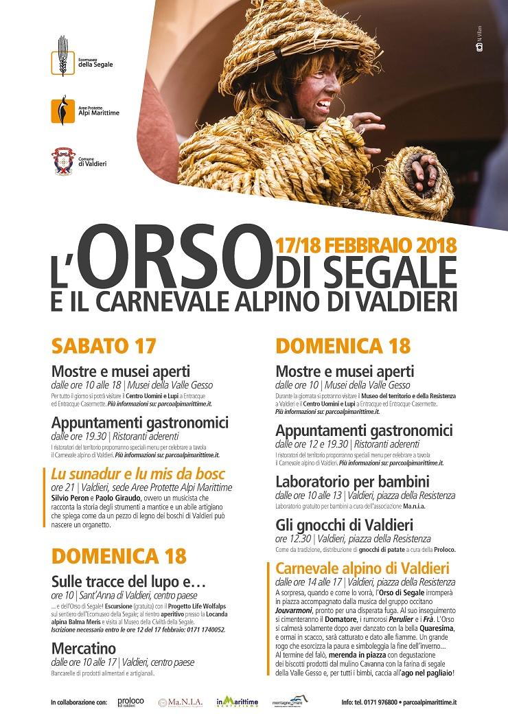 Carnevale Alpino di Valdieri 2018