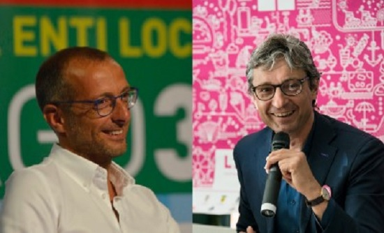 Andrea Gnassi e Matteo Ricci a Serralunga d'Alba