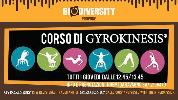 Corso di Gyrokinesis® ( solo su prenotazione)