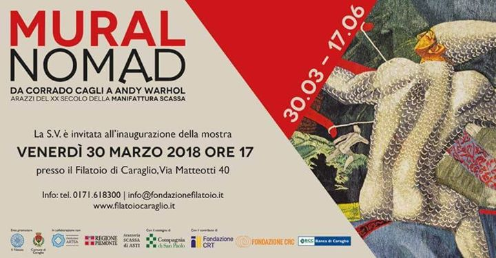 Muralnomad- da Corrado Cagli a Andy Warhol _Filatoio di Caraglio