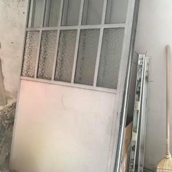 portone in ferro x garage €200 - Alba Vendo portone...