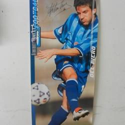 Poster pubblicitario pubblicità Del Piero Juventus Pepsi con autografo €25...