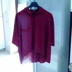 Camicia casacca €8 - Beinette Vendo camicia casacca nuova bordò...