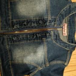 Giubbino jeans 18m bimba €8 - Milpa Alta, CDMX Veste...