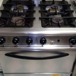 Cucina professionale Olis 4 fuochi con forno €800 - Milpa...