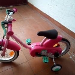 """Bici bimba 14"""" €50 - Cuneo Nuova Solo provata."""