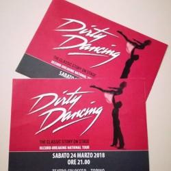 """2 biglietti per """"Dirty Dancing"""" - Sabato 24 Marzo ore..."""