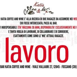 Il bar Katia Coffee and Wine è alla ricerca di...