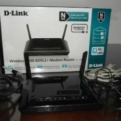 MODEM ROUTER ADSL2+ WIRELESS N DI D-LINK (DSL-2750B) €15 -...