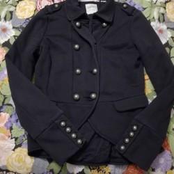 Giacca in felpa taglia M Ma veste piccolo colore nero...