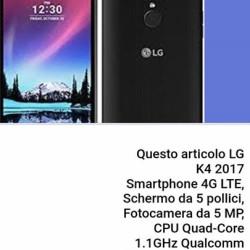 LG K4 2017 NUOVO CON GARANZIA €100 - Cuneo MAI...