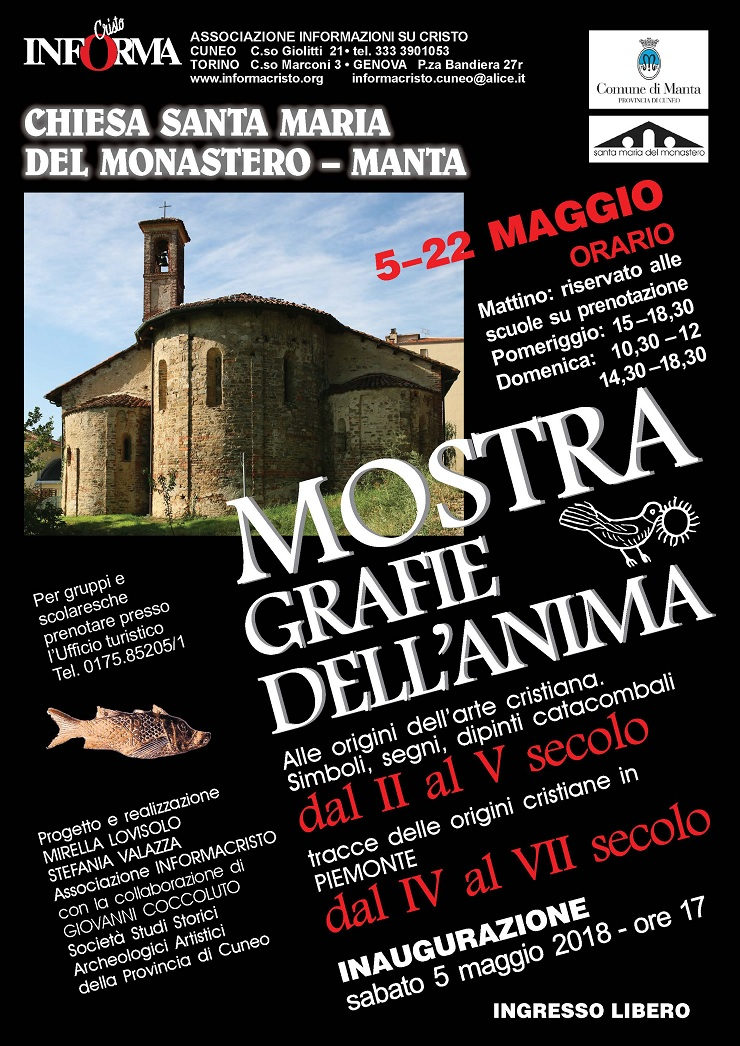 "Mostra ""Grafie dell'anima"" a Manta"