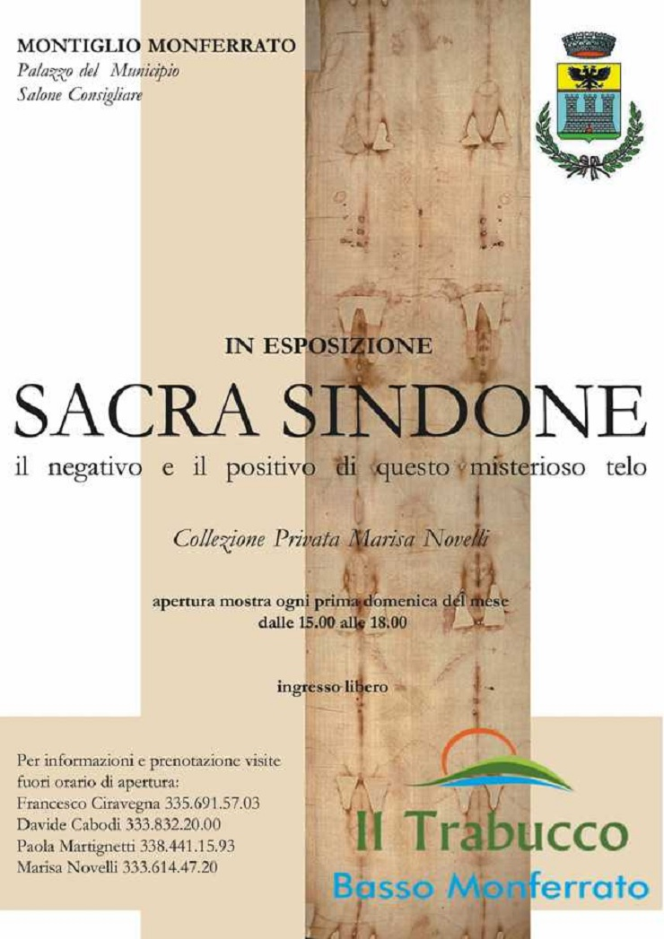 Sacra Sindone in esposizione a Montiglio Monferrato