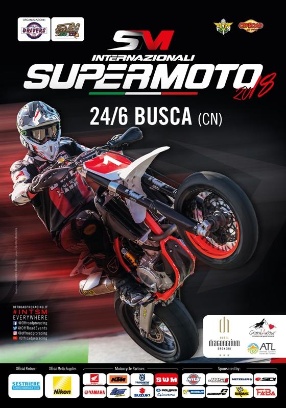 Campionato Italiano Supermoto 2018 a Busca