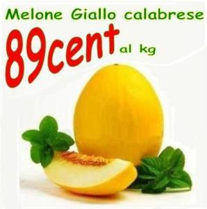 Melone giallo calabrese ad € 0.89/kg